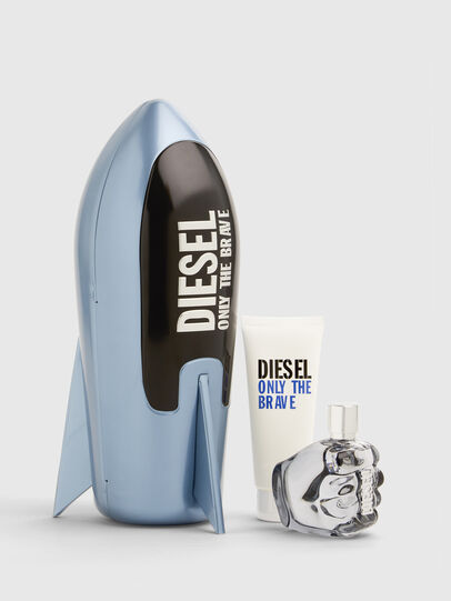 Diesel - ONLY THE BRAVE 75ML PREMIUM GIFT SET, Blue - Only The Brave - Image 1