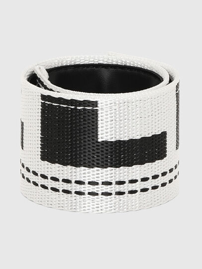 Diesel - A-MASER, White/Black - Bijoux and Gadgets - Image 1
