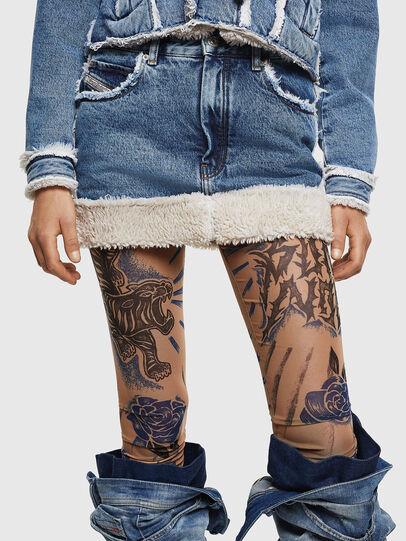 Diesel - DE-TILDRA, Medium blue - Skirts - Image 1