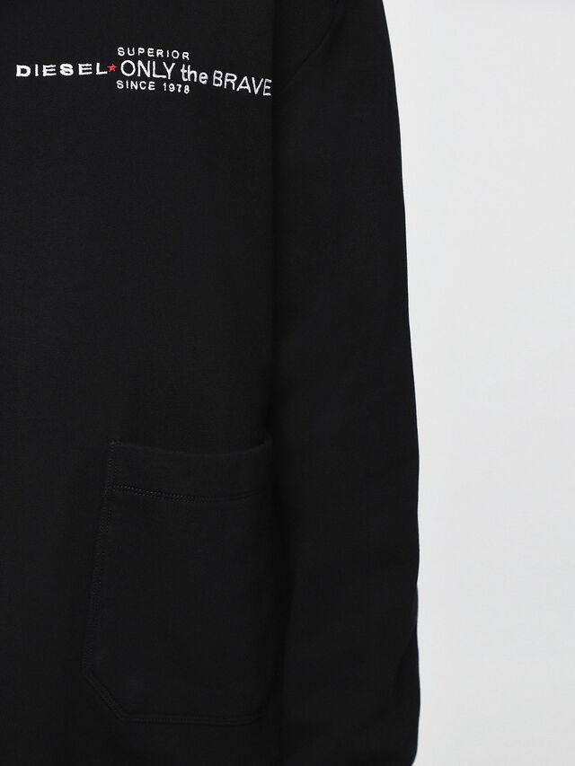 Diesel - S-ELLIS-CL, Black - Sweaters - Image 3