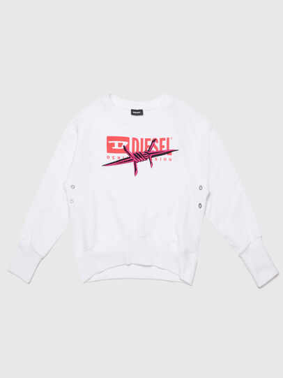 Diesel - SMAGDAC, White - Sweaters - Image 1