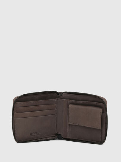 Diesel - ZIPPY HIRESH S WITH, Dark grey - Zip-Round Wallets - Image 3