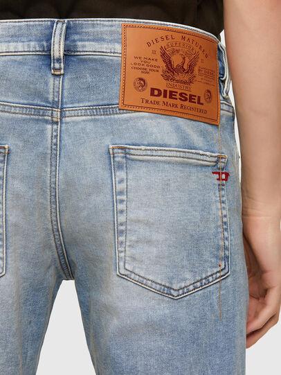 Diesel - D-Strukt JoggJeans® 069UU, Light Blue - Jeans - Image 4