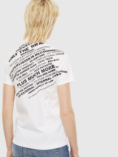 Diesel - T-SILY-S1, White - T-Shirts - Image 2