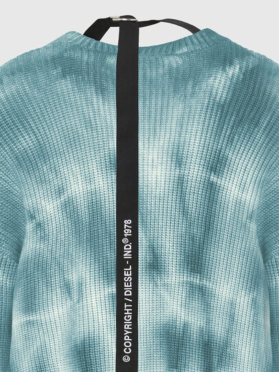 Diesel - M-INDIANA, Blue/White - Knitwear - Image 4