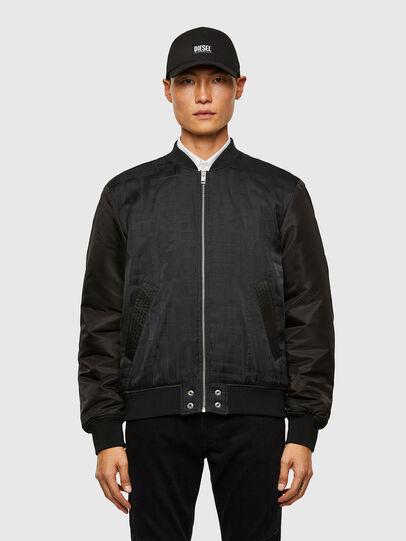 Diesel - J-SCHMIDZ, Black - Jackets - Image 1