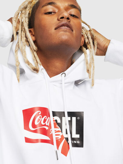 Diesel - CC-S-ALBY-COLA, White - Sweaters - Image 5