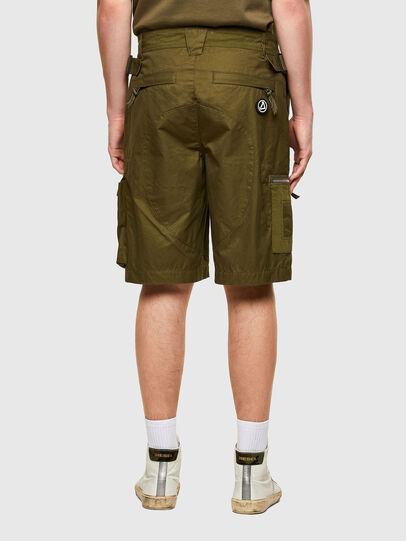 Diesel - P-CYAN-SHORT, Military Green - Shorts - Image 2