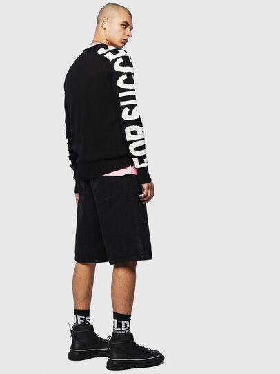 Diesel - K-INTARY, Black - Knitwear - Image 4