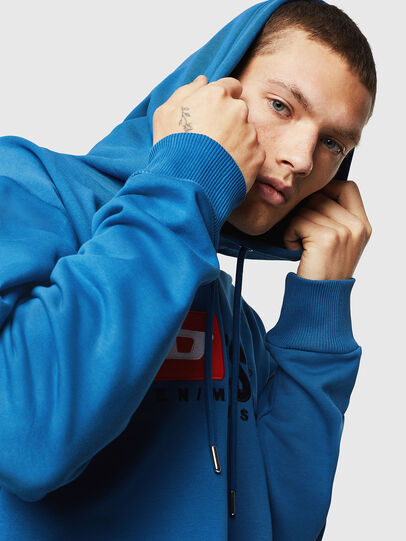 Diesel - S-DIVISION, Blue - Sweaters - Image 3