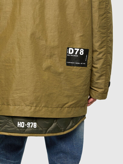 Diesel - W-STEVE, Military Green - Winter Jackets - Image 6