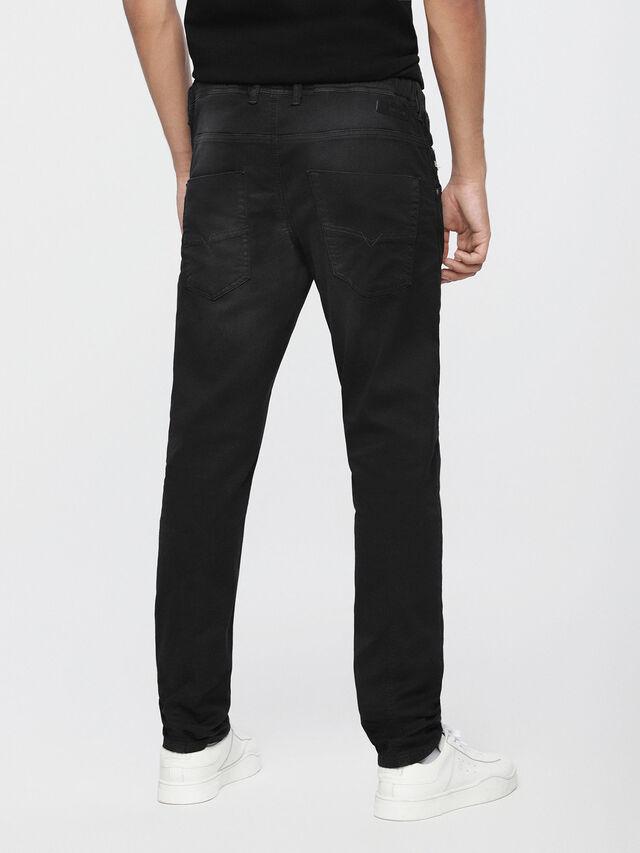 Diesel - Krooley JoggJeans 0670M, Black Jeans - Jeans - Image 2