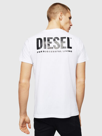 Diesel - LR-T-DIEGO-VIC, White - T-Shirts - Image 2