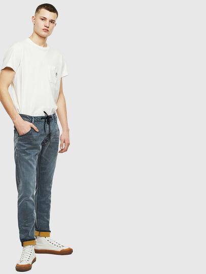 Diesel - Krooley JoggJeans 069LT, Dark Blue - Jeans - Image 7