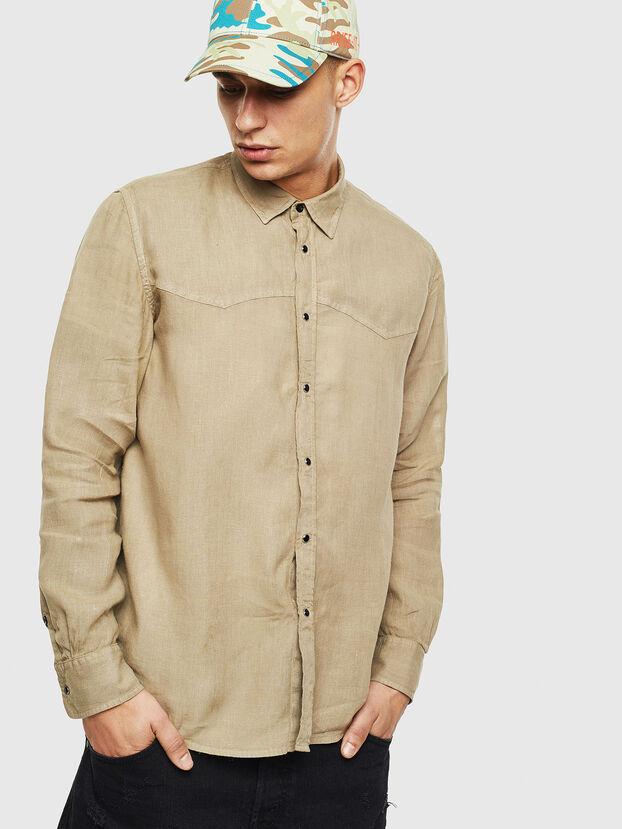 S-PLAN-B, Beige - Shirts