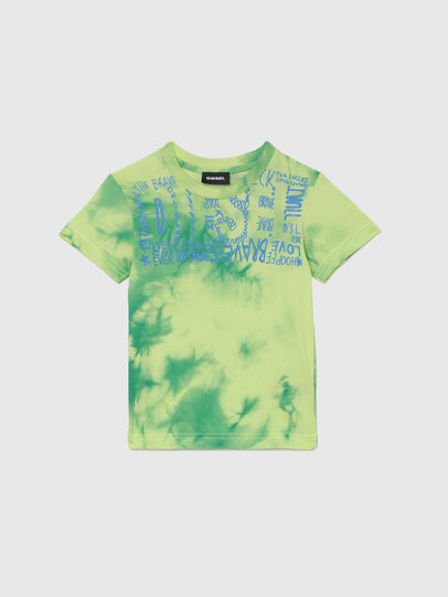 Diesel - TIMMYB-R, Green - T-shirts and Tops - Image 1