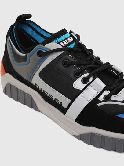 Diesel - S-RUA SL LOW, Black - Sneakers - Image 4