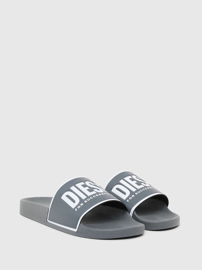 Diesel - SA-VALLA, Grey - Slippers - Image 2