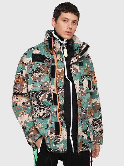 Diesel - J-TOUCHA-CAMOU,  - Jackets - Image 1