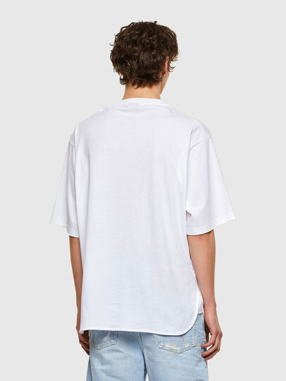 Diesel - T-DELPHONE, White - T-Shirts - Image 2