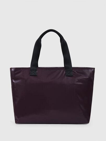 Diesel - F-BOLD SHOPPER III, Dark Violet - Shopping and Shoulder Bags - Image 2