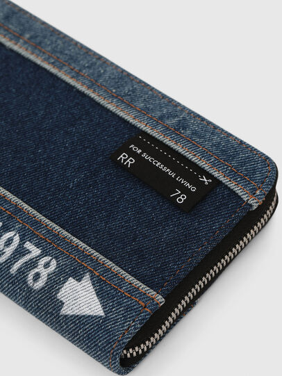 Diesel - GRANATO LC, Blue Jeans - Zip-Round Wallets - Image 4