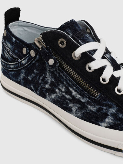 Diesel - EXPO-ZIP LOW W, Dark Blue - Sneakers - Image 4