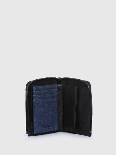 Diesel - L-12 ZIP, Blue/Black - Small Wallets - Image 3