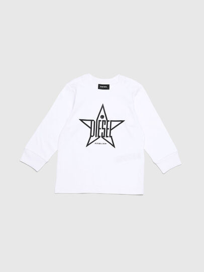 Diesel - TDIEGOYHB-ML-R, White - T-shirts and Tops - Image 1