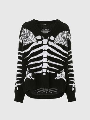 M-CRYSTAL, Black - Knitwear