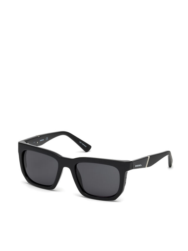 Diesel - DL0254, Black - Sunglasses - Image 4