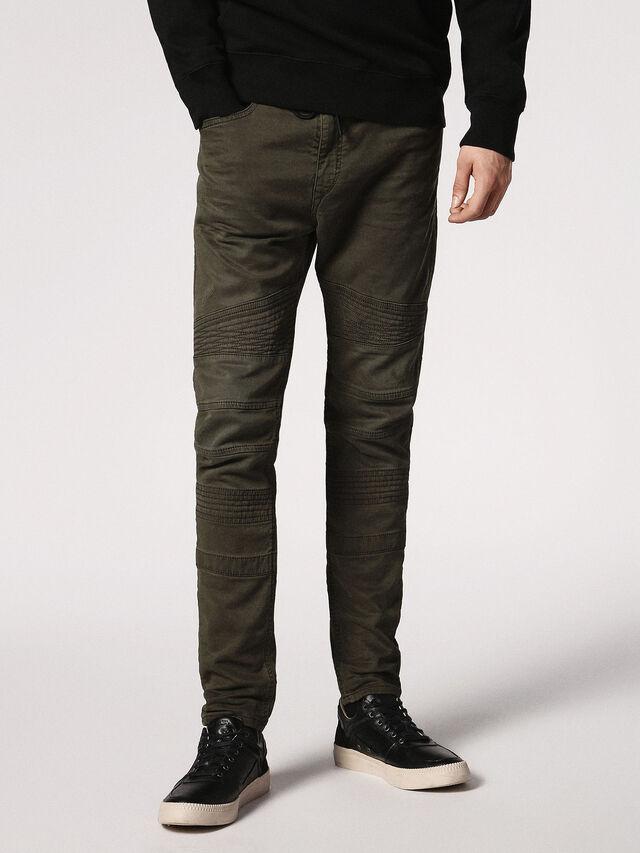 Diesel - BAKARI JOGGJEANS 0684T, Olive Green - Jeans - Image 4