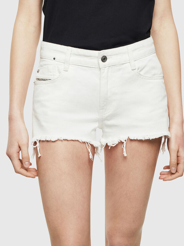 DE-RIFTY, White - Shorts