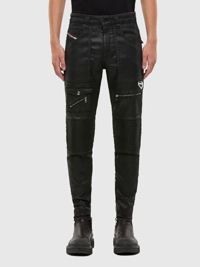 Diesel - D-Derrot JoggJeans® 069QY, Black/Dark grey - Jeans - Image 1