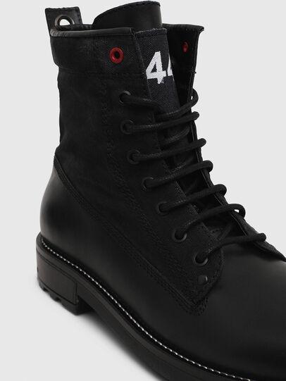 Diesel - D-THROUPER DBB, Black - Boots - Image 4