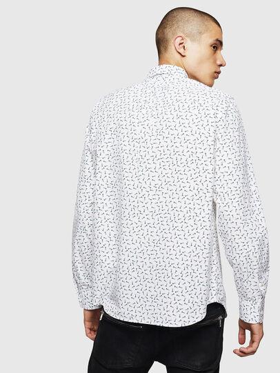 Diesel - S-VEN-NAIL, White - Shirts - Image 2