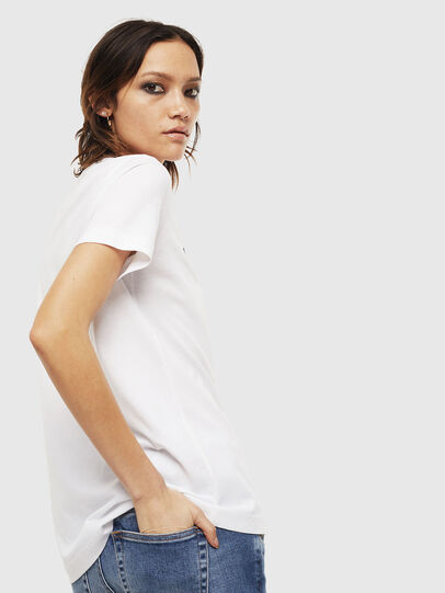 Diesel - T-SILY-S6, White - T-Shirts - Image 2