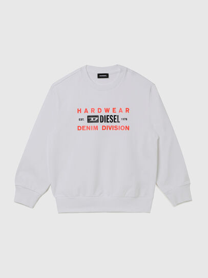 Diesel - SGIRKK10 OVER, White - Sweaters - Image 1