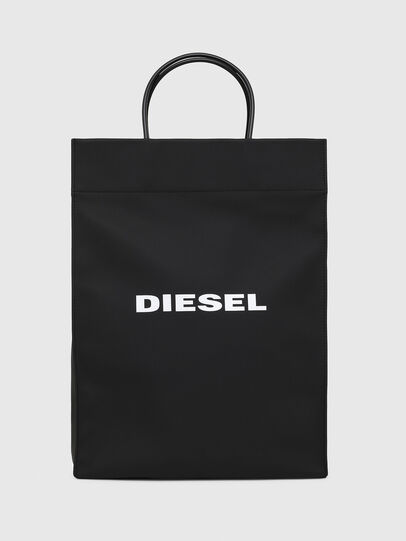 Diesel - SAKETTONE, Black - Shopping and Shoulder Bags - Image 2