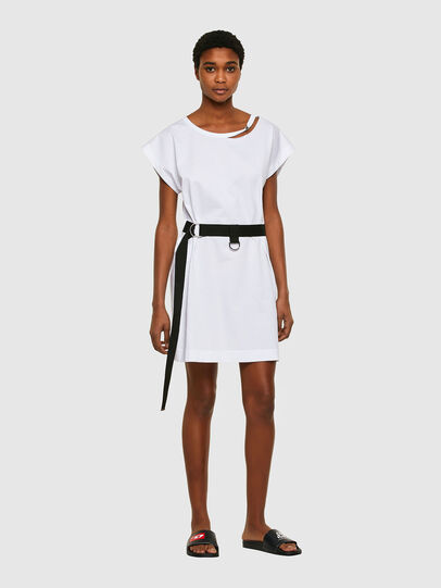 Diesel - D-EASY, White - Dresses - Image 1