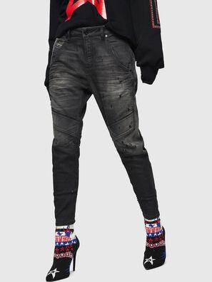 Fayza JoggJeans 069GN, Black/Dark grey - Jeans