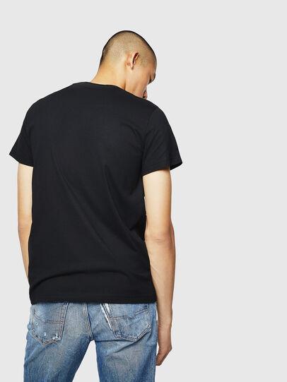 Diesel - T-DIEGO-B3, Black - T-Shirts - Image 2