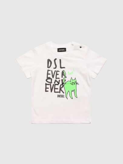 Diesel - TORTUB, White - T-shirts and Tops - Image 1
