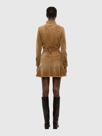 Diesel - D-SHAY-A, Light Brown - Dresses - Image 2