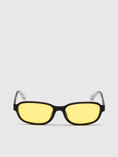 Diesel - DL0326, Yellow - Sunglasses - Image 1