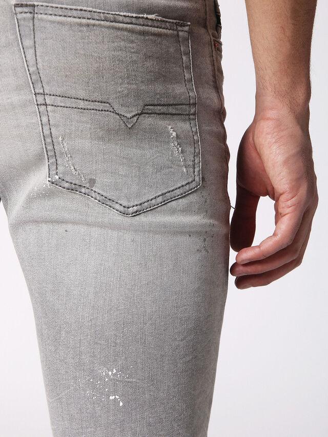 Diesel - BUSTER 0699J, Light Grey - Jeans - Image 6