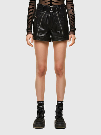 Diesel - S-BONNIE, Black - Shorts - Image 1