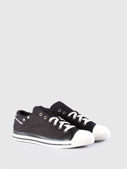 Diesel - EXPOSURE LOW, Black - Sneakers - Image 2