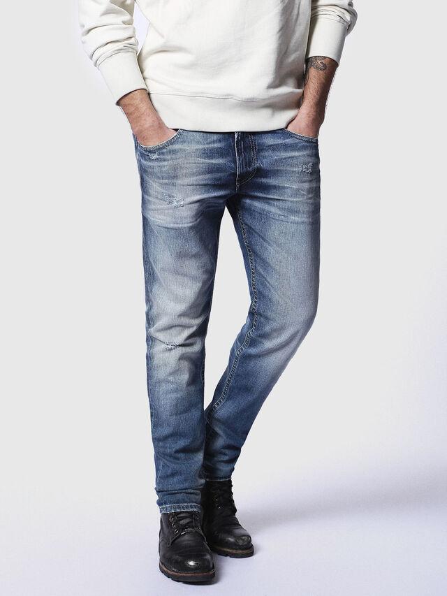 Diesel - Thommer 084DD, Dark Blue - Jeans - Image 1