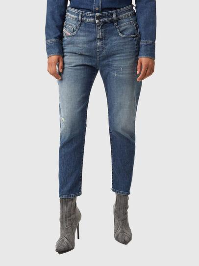 Diesel - Fayza 09A54, Medium blue - Jeans - Image 1
